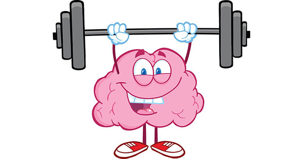 Мозг и гантели