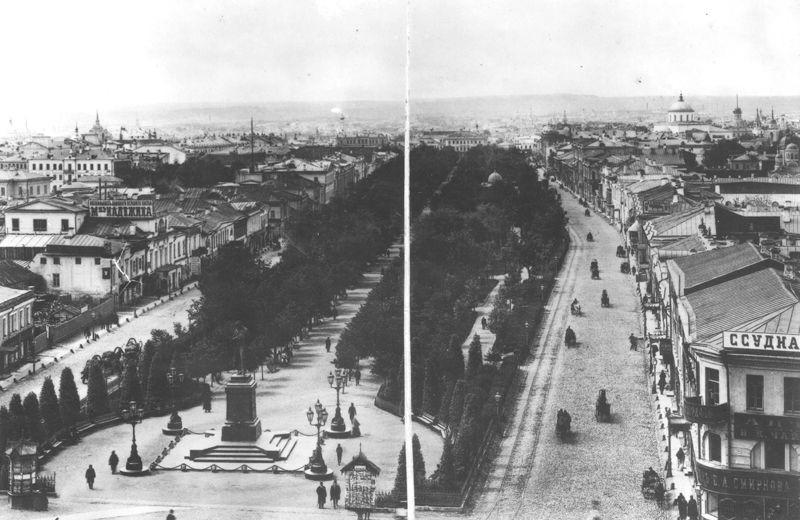 Тверской бульвар. Фото 1888 г.