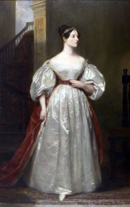 Ада Лавлейс. Портрет кисти Маргарет Сары Карпентер (1836)