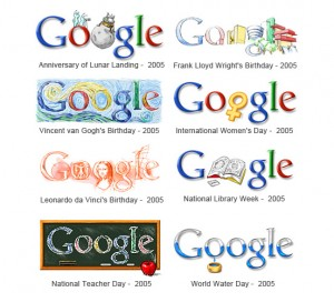 Google Doodles 2005