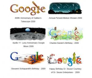 Google Doodles 2009