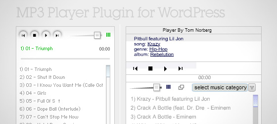 MP3 Player Plugin for wordpress