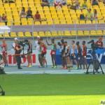 Старт забега на 1500 м среди мужчин
