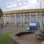 Памятник В. И. Ленину на Центральной аллее Олимпийского комплекса