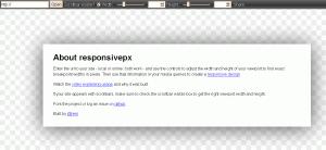 Сайт Responsivepx.com