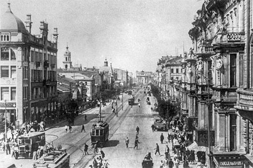 Тверская улица. 1920-е г.