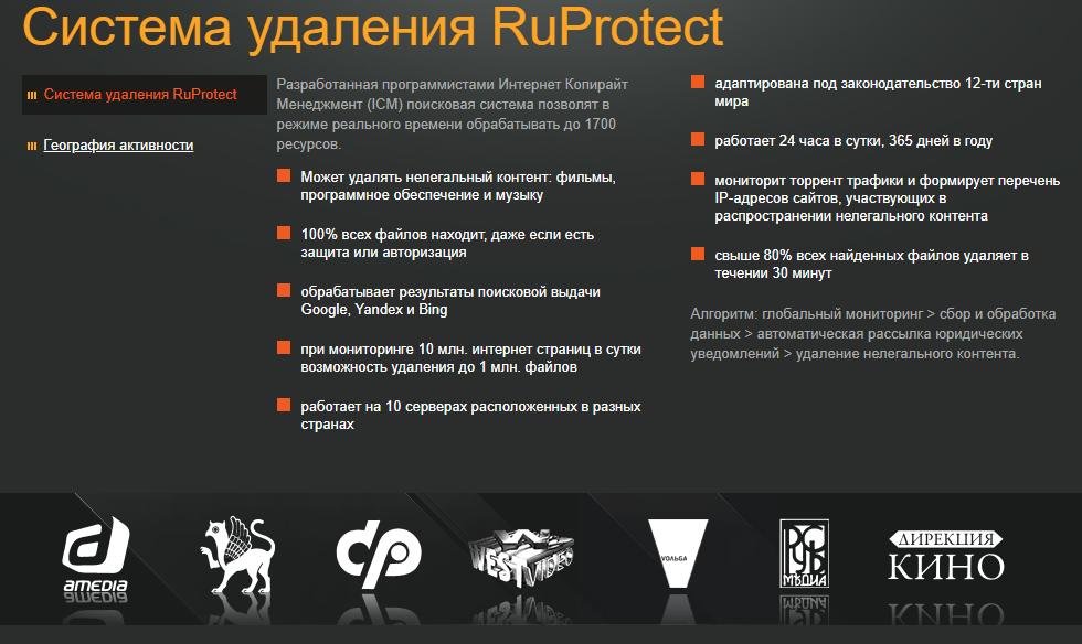 Система удаления RuProtect