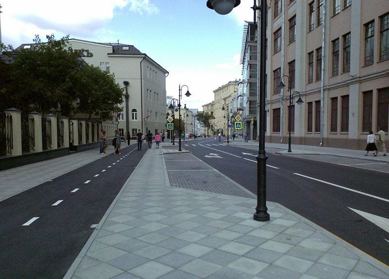Улица Пятницкая после ремонта